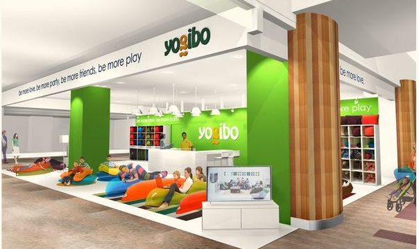 ヨギボ― Yogibo ビーズクッション 店舗