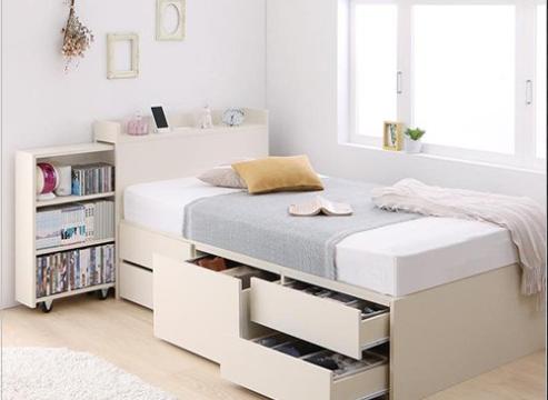 収納ベッド おすすめ ニトリ 無印