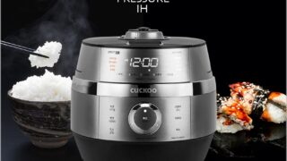 ツインプレッシャー IH炊飯器 高圧 無圧モード対応