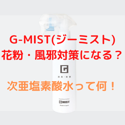 G-MIST ジーミスト 花粉 風邪対策